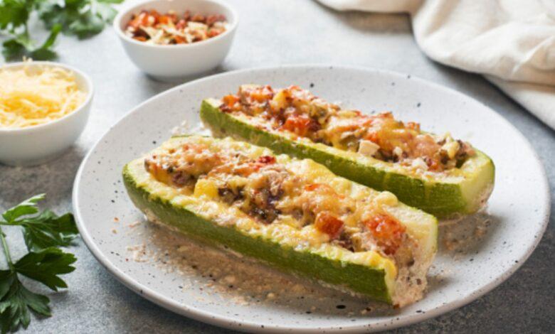 5 recetas de calabacín relleno, la cena o comida saludable más deliciosa 1