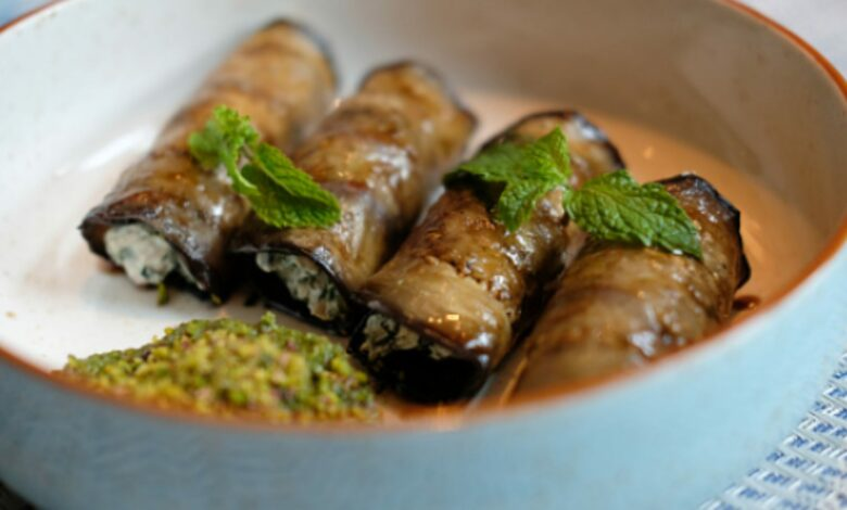 Canelones de berenjena y atún, receta de cena rápida saludable 1
