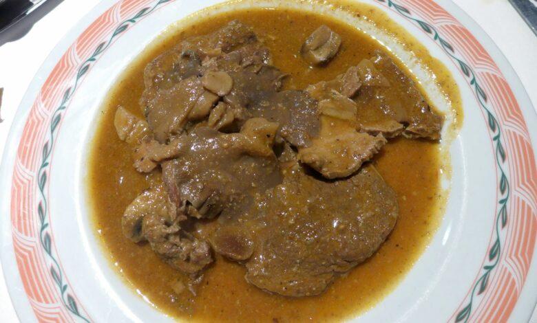 Carne carbonada a la flamenca 1