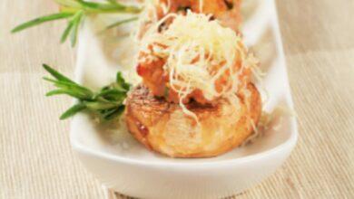 5 recetas de champiñones rellenos para celebrar el Día del Champiñón 5