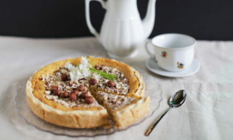 Tarta de queso con boniato y dulce de leche, receta de un postre de otoño 1