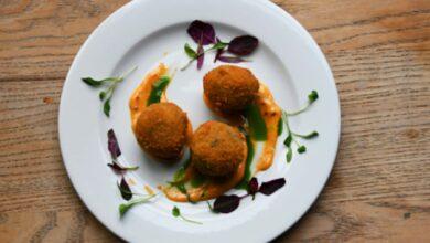 Croquetas de setas y queso azul, receta de aperitivo fácil de preparar 8