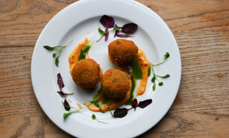 Croquetas de setas y queso azul, receta de aperitivo fácil de preparar 1