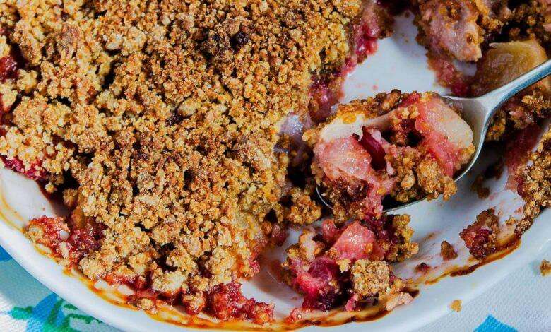 Crumble de fresas: postre fácil y saludable 1