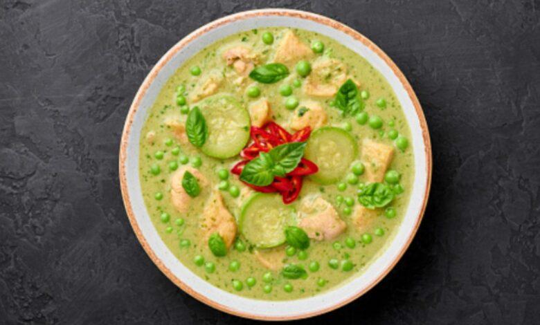 Curry de calabacín, receta vegetariana original y saludable 1