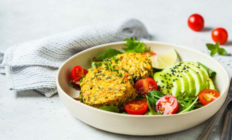 Falafel de calabaza, receta de cena rápida saludable 1
