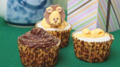Receta de cupcakes temáticos fáciles para hacer con niños 4