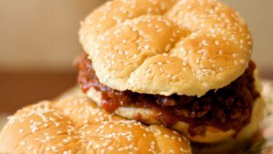 cómo hacer el mítico sándwich estadounidense con carne picada 3