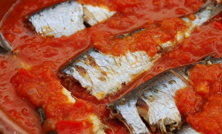 Sardinas a la moruna: receta con verduras 1