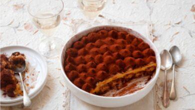 Tiramisú de calabaza y nata, receta de postre original y sencilla 6